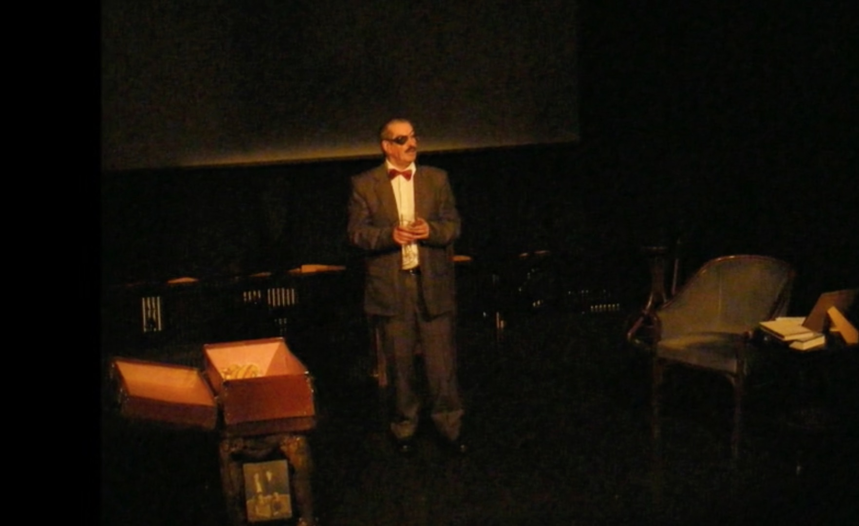 Martin Brennan as Joyce; from the Umbrella Theatre Company production of Michael Casey